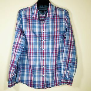 Tommy Hilfiger | Red, White and Blue Button Shirt